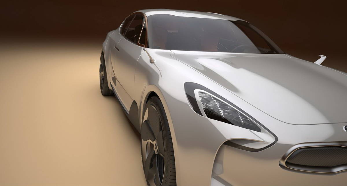 Kia представила солянку из суперкаров (фото)