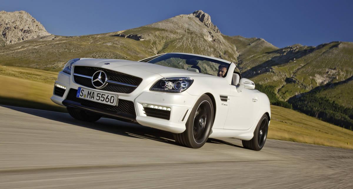 Mercedes-Benz везет во Франкфурт самый мощный SLK (фото)