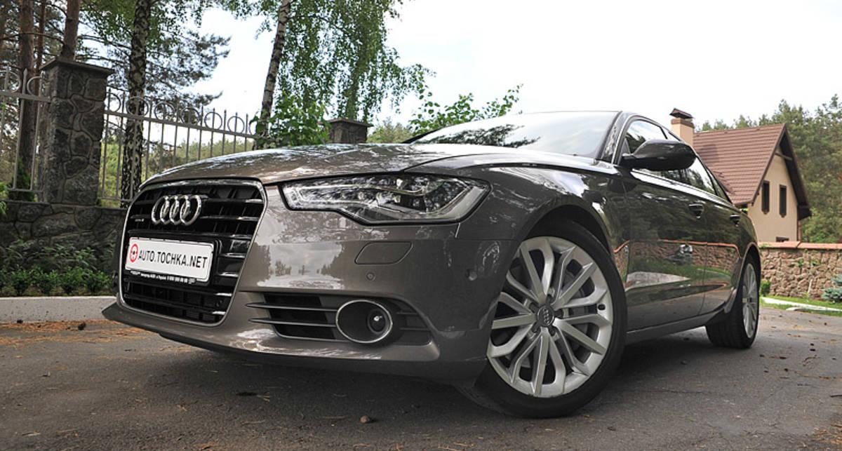 Тест-драйв Audi A6: когда деньги - не главное