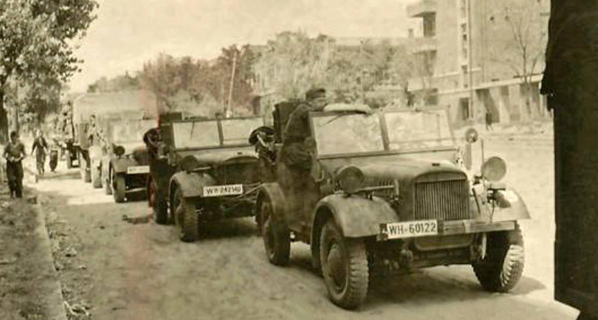 Машины Второй мировой войны: колеса Вермахта