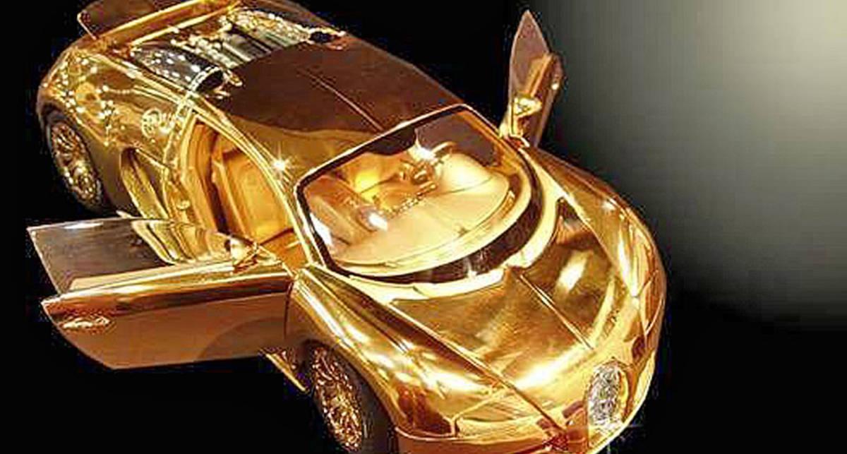 Игрушечный Bugatti оказался дороже настоящего суперкара