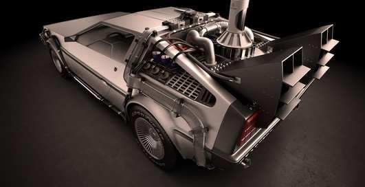 DeLorean и компания: крутые авто на выставке Детройта