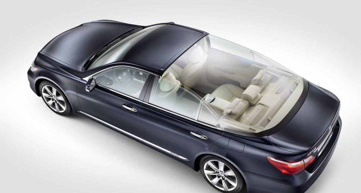 Из Lexus сделали автомобиль для королевской семьи (фото)