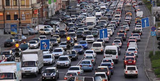 Пять городов со страшными пробками на дорогах