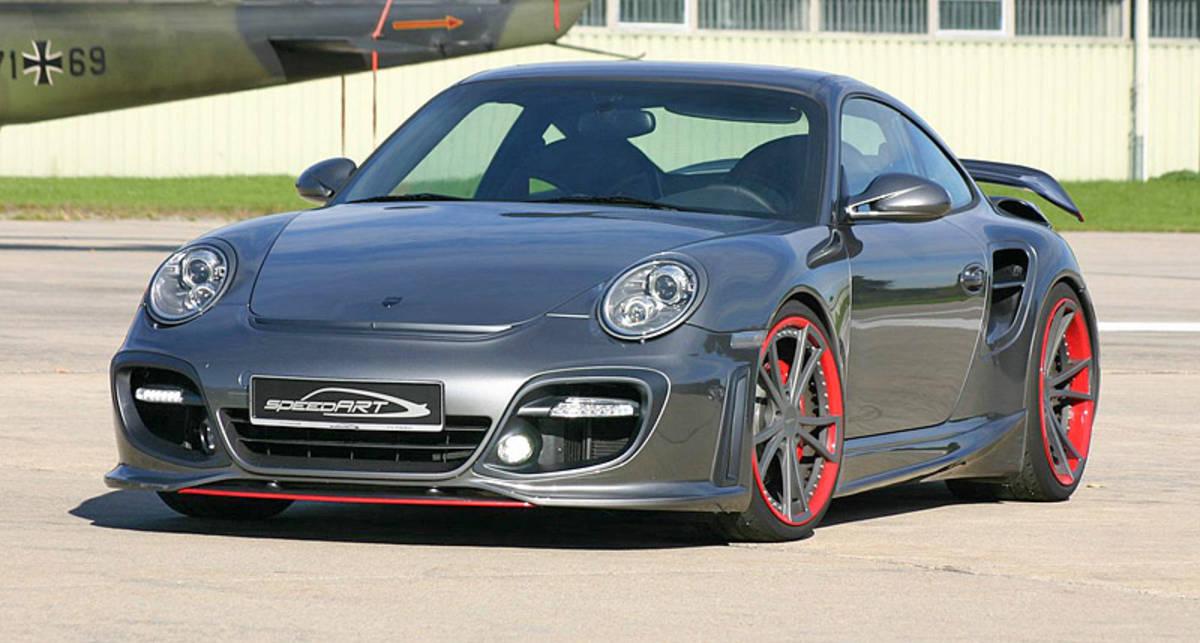 Суперкар Porsche превратили в