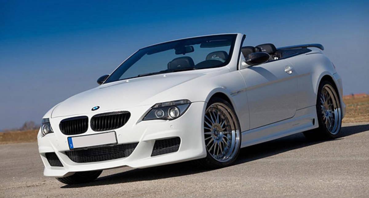 Для кабриолета BMW M6 подготовили карбоновый