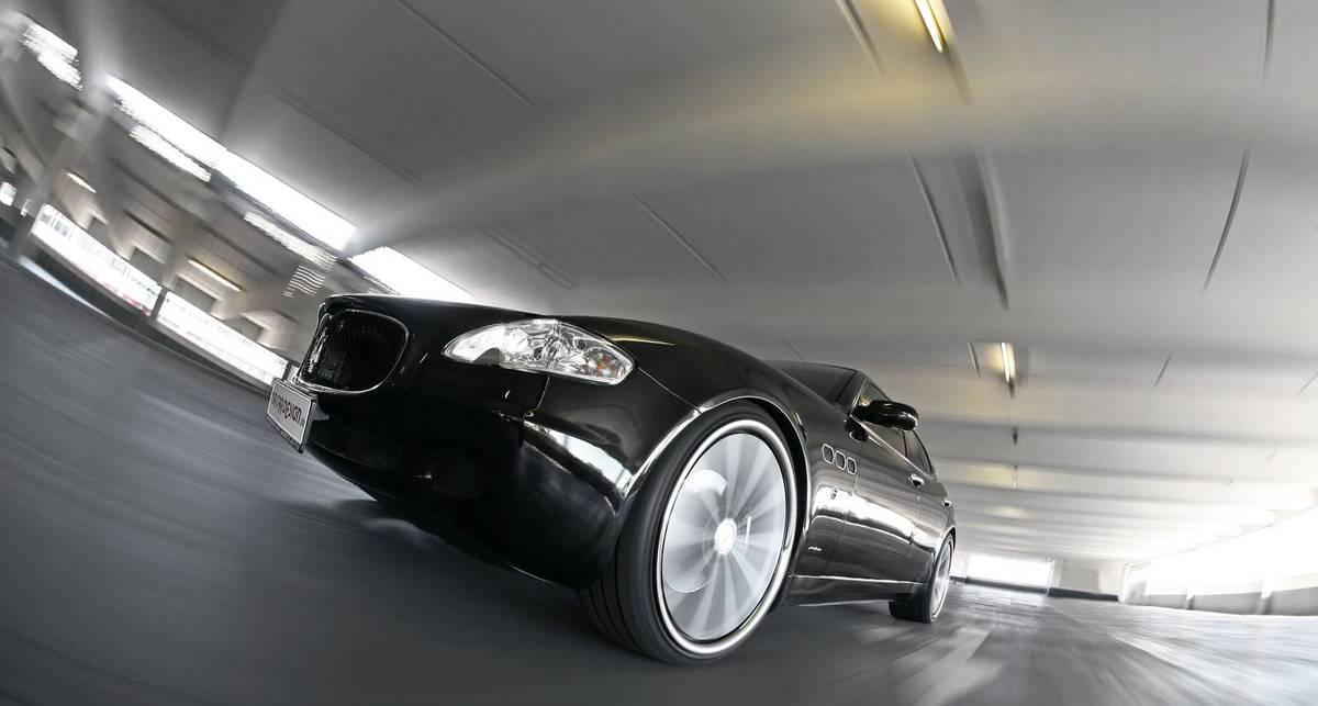 Роскошному Maserati накинули мощности (фото)