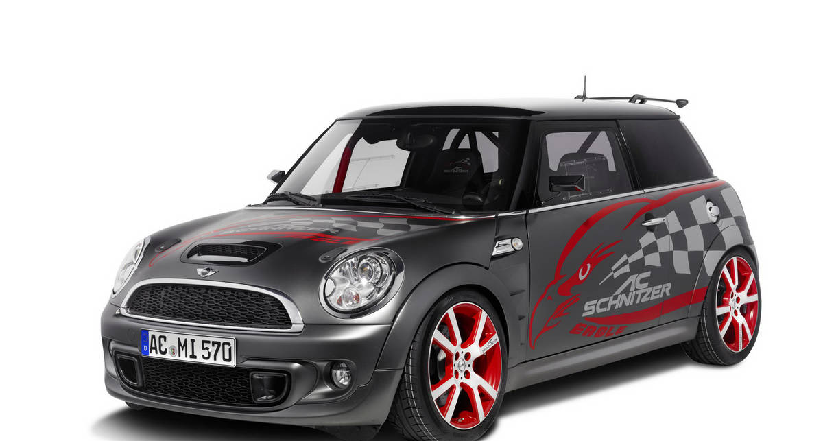Новый Mini оставил не у дел Ferrari, Porsche И BMW (фото)
