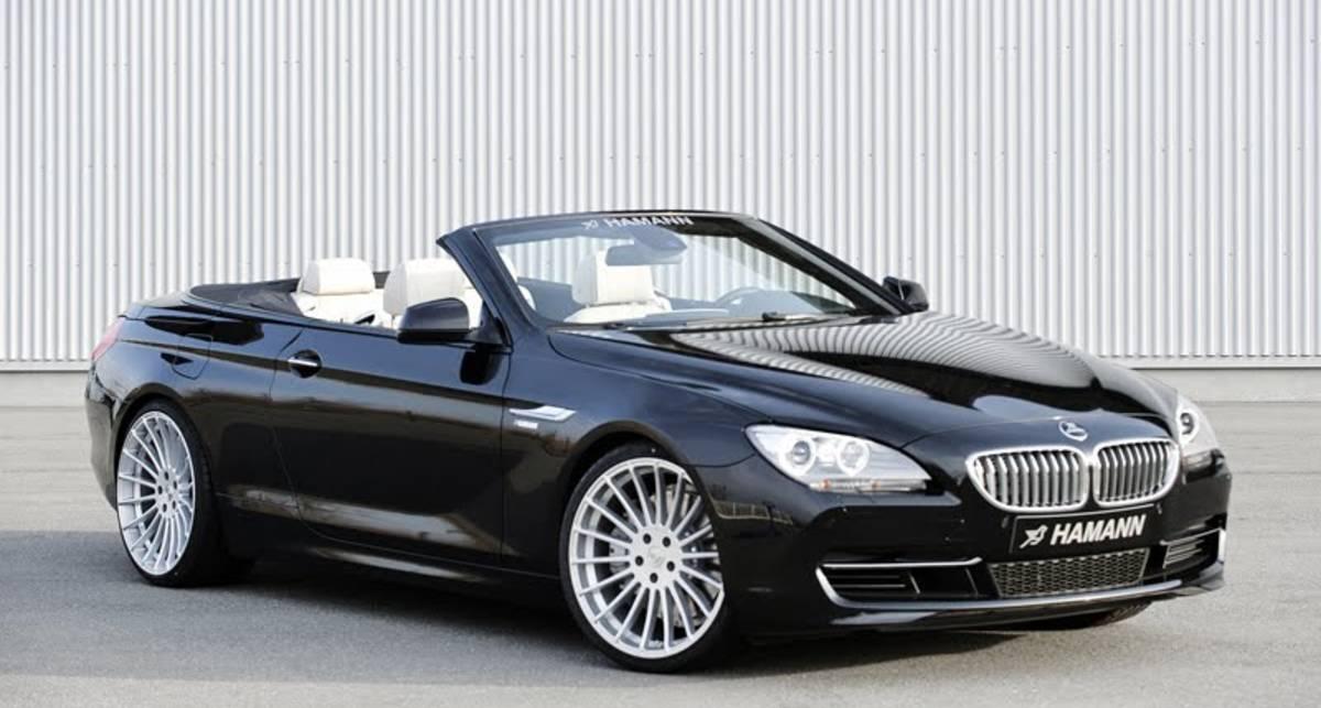 В ателье Hamann создали для BMW модную