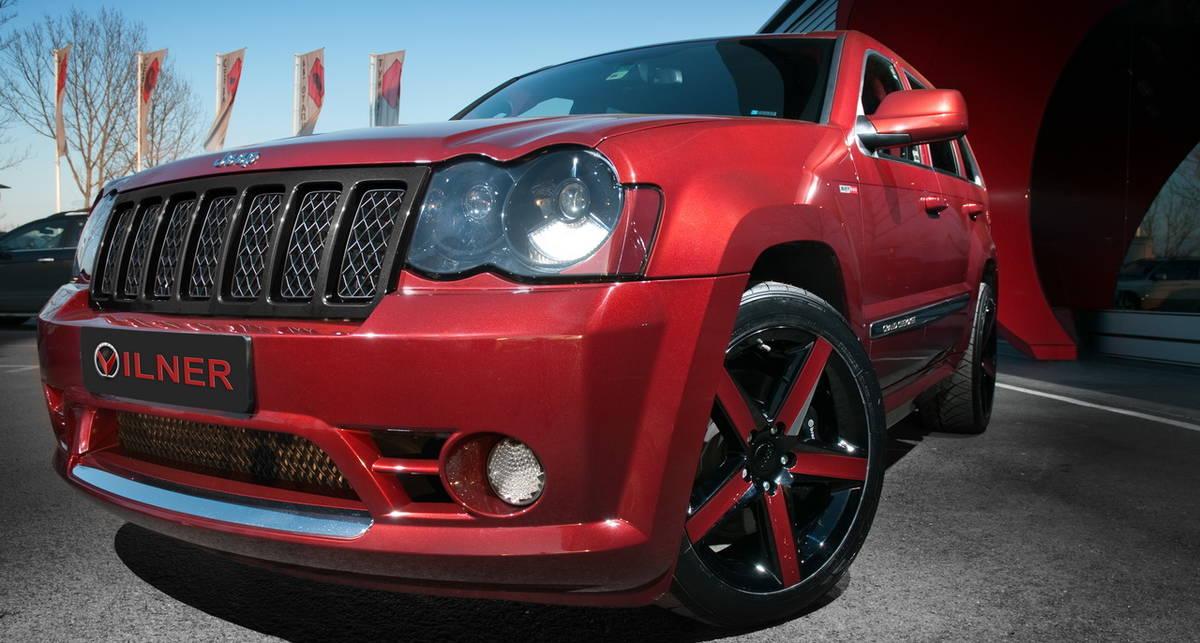 В Vilner обновили уже прокачанный Jeep Grand Cherokee (фото)