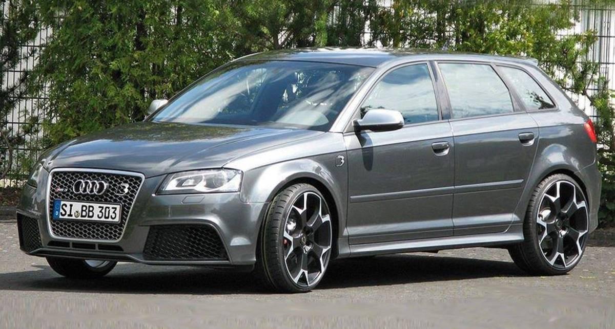 Компактную Audi превратили в заправский суперкар (фото)