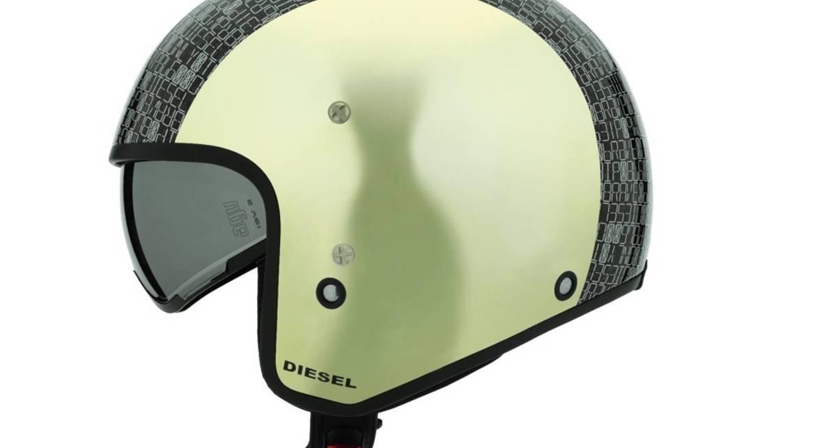 Diesel выпустил серию мотошлемов в винтажном стиле (фото)