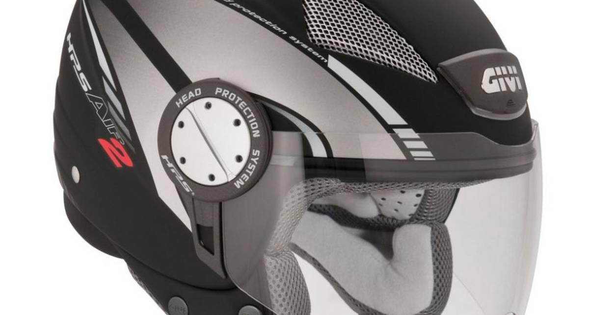 Итальянцы показали эффектный шлем полу-интеграл (фото)