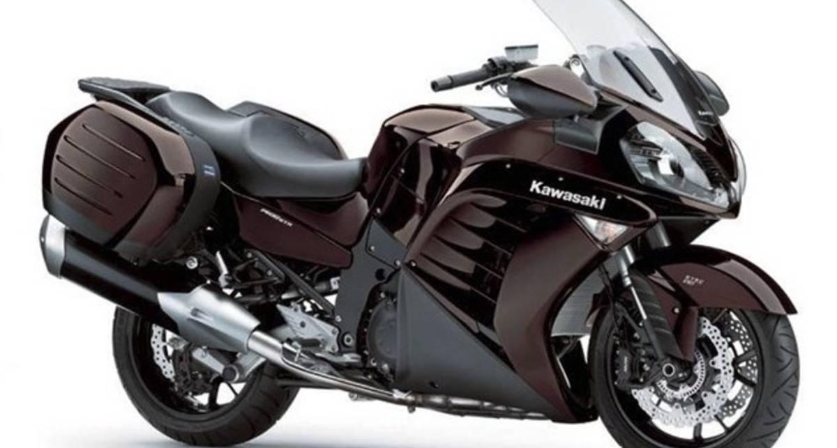 В 2012 году байки Kawasaki получат новые цвета (фото)