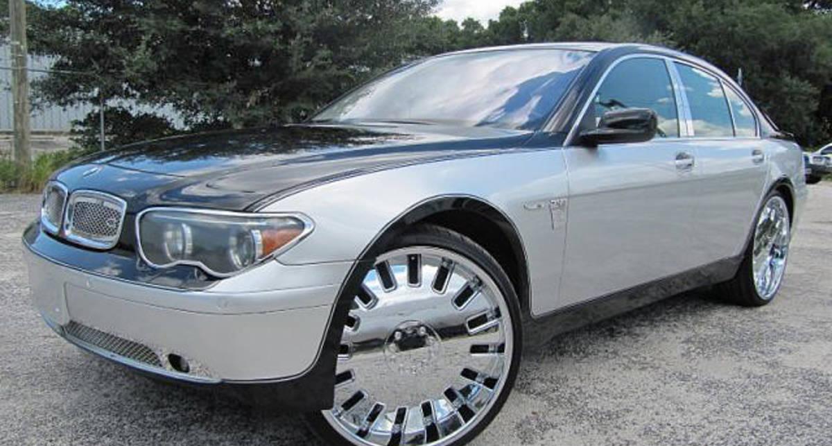 Зеркальную BMW 7 Series продают на eBay (фото)