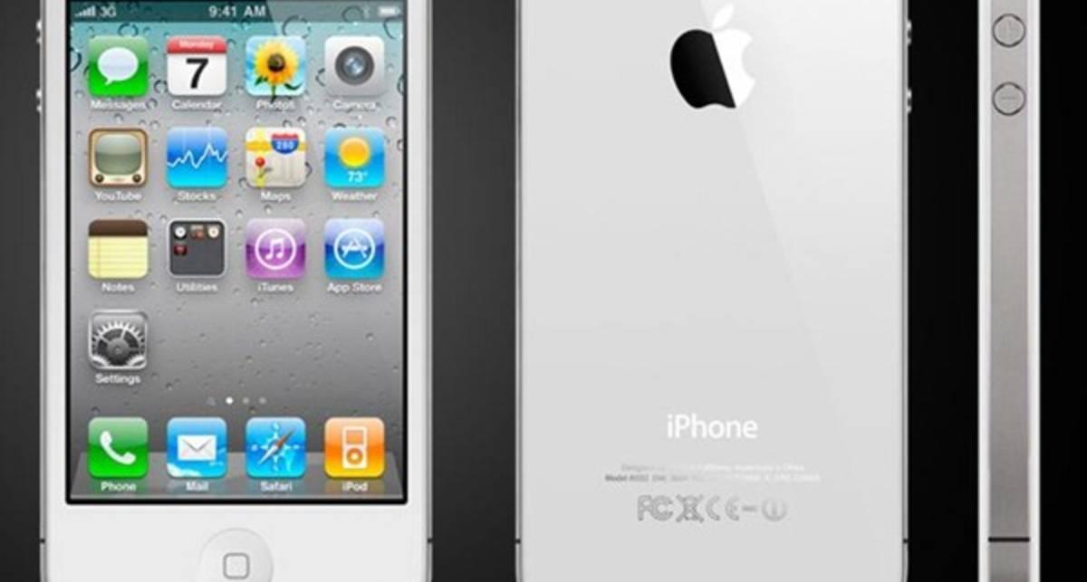 Apple подтвердила выход белого iPhone 4