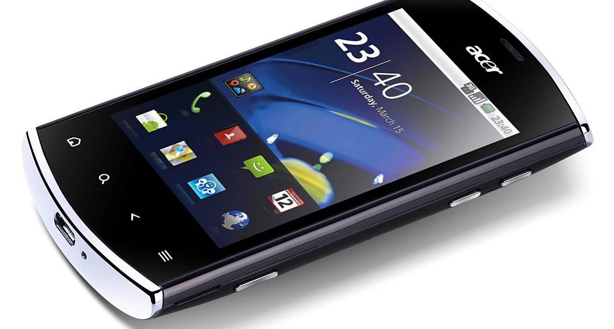 ACER представила новый компактный смартфон Acer Liquid Mini