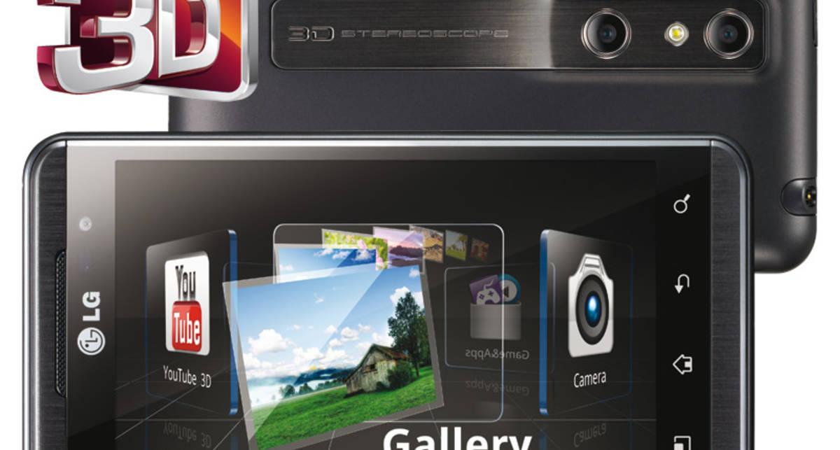 LG Optimus 3D - первый смартфон с трёхмерным экраном (фото)