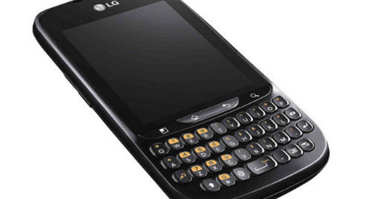 LG Optimus получит QWERTY-клавиатуру (фото)