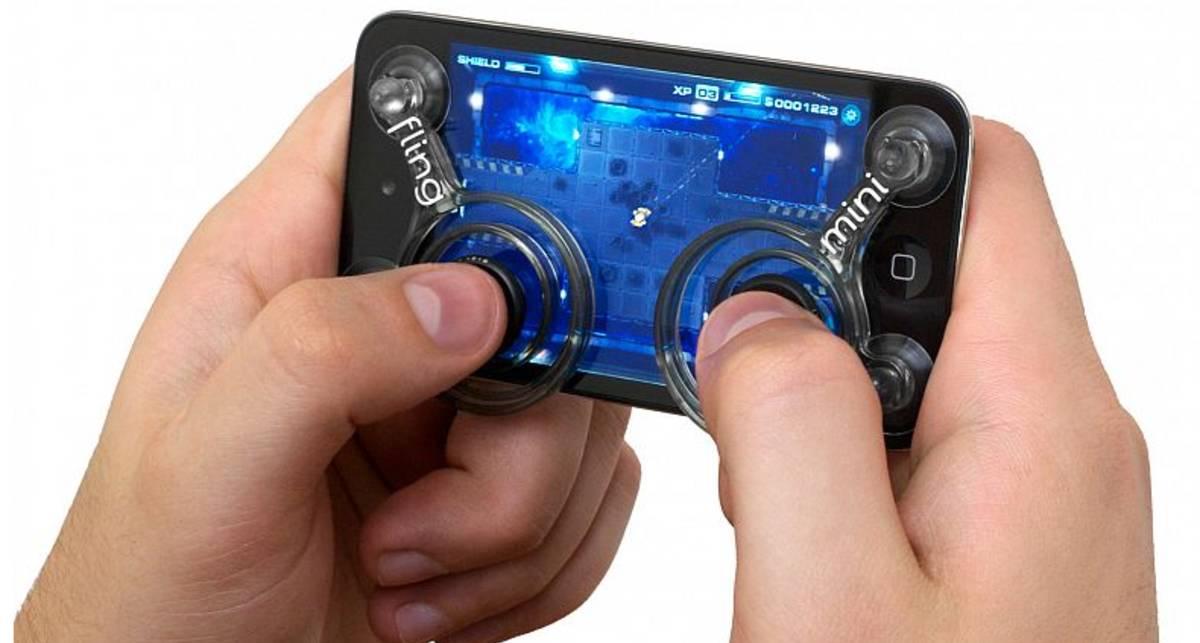 iPhone стал более удобным для игр (фото)