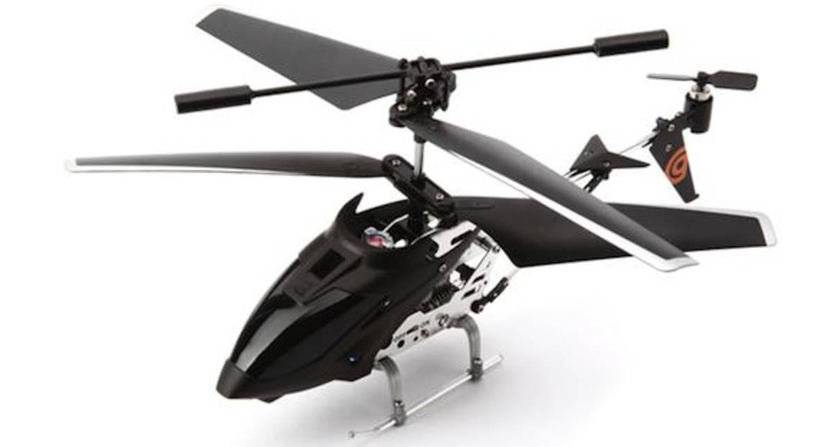Griffin Helo TC - летающий гаджет для iPhone (фото, видео)