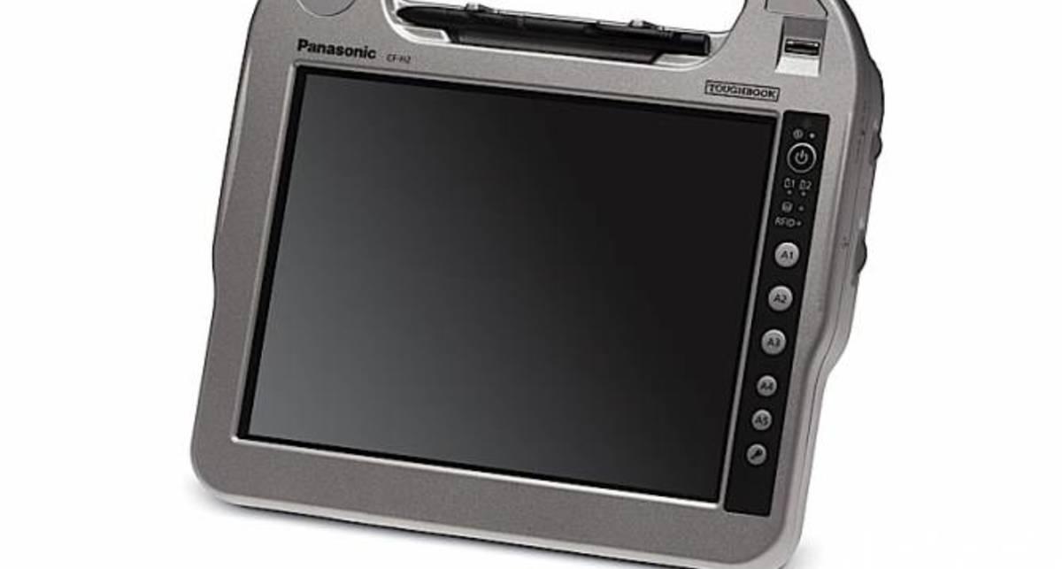 Panasonic выпустила бронированный планшет (фото)