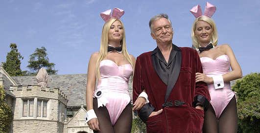 Основателю Playboy Хью Хефнеру исполнилось 88 лет