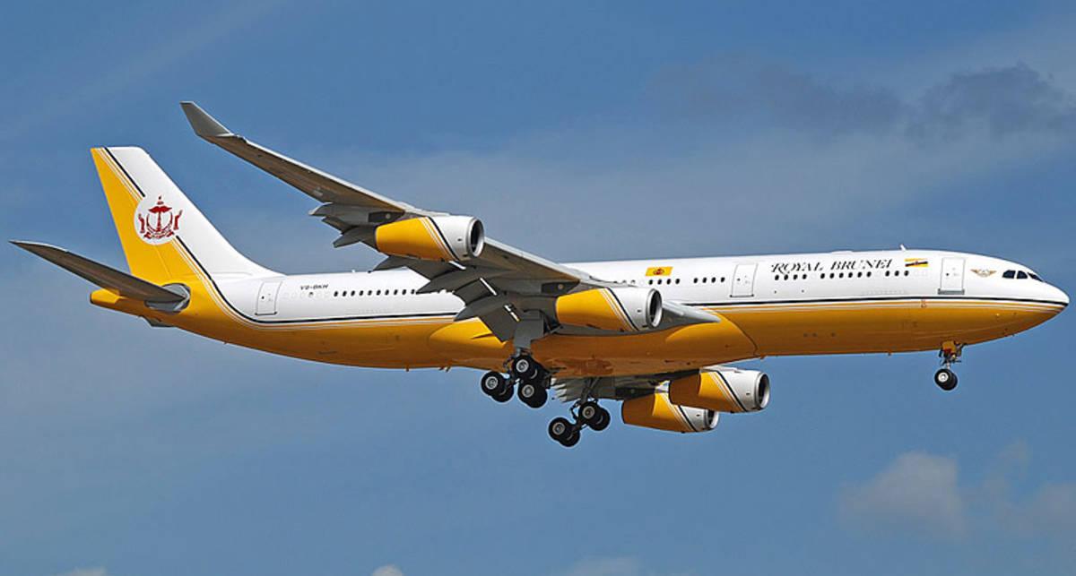 Самолеты президентов: летающий дворец султана Брунея (фото)