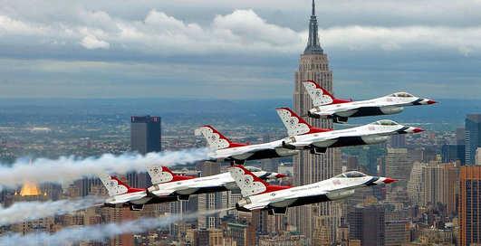 Гроза небес: истребителю F-16 исполнилось 40 лет!