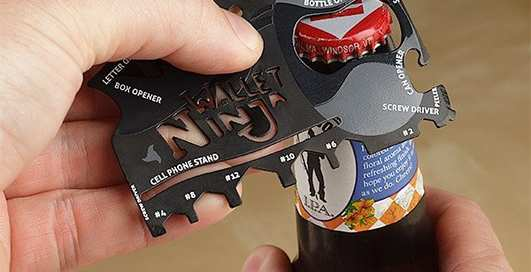 Находка дня: мультитул Wallet Ninja 16-in-1