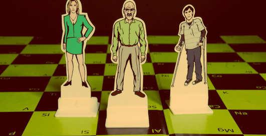 Находка дня: шахматы для фанов сериала Во все тяжкие