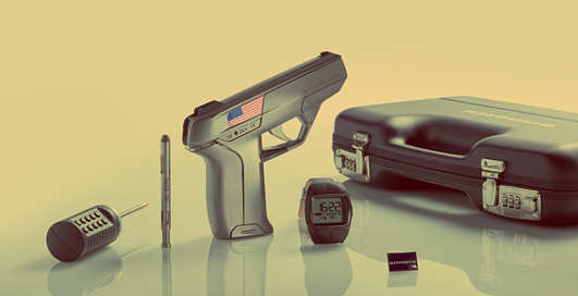 Оружие будущего: «умный» пистолет Armatix iP1