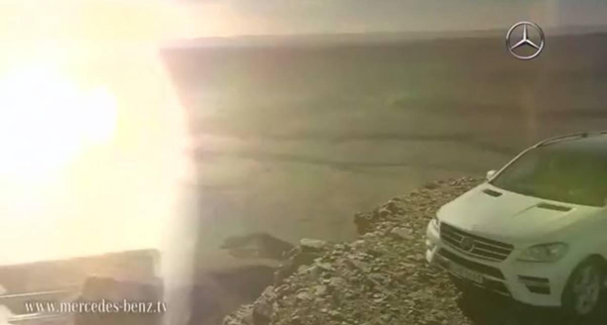 Mercedes-Benz раскрыл подробности нового внедорожника (фото, видео)
