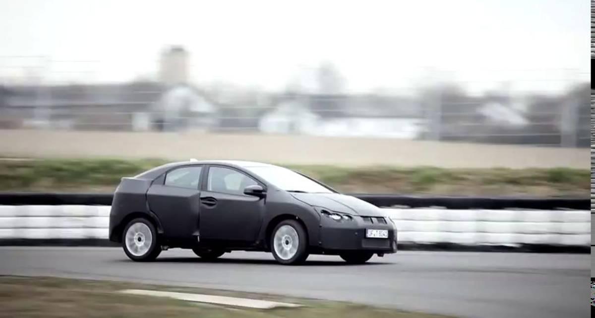 Новая Honda Civic получит мощный и экологичный мотор