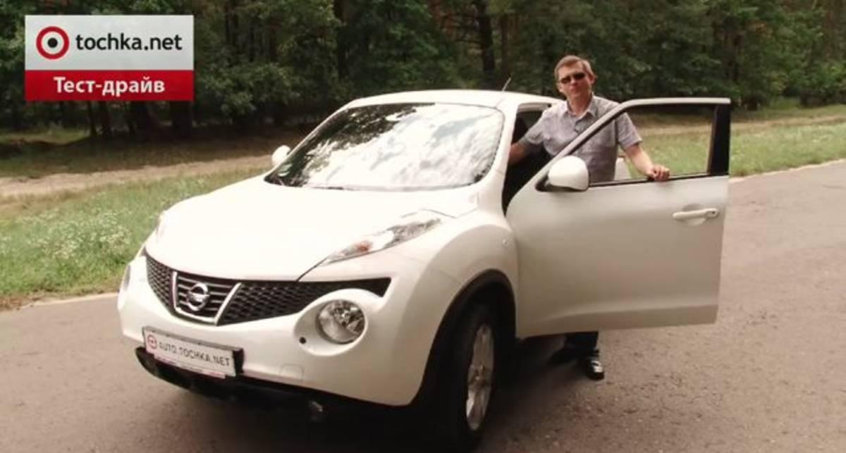 Тест-драйв Nissan Juke: Micra-кроссовер (видео)