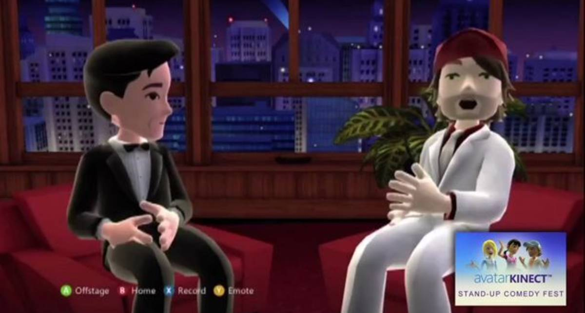 Avatar Kinect позволяет передавать эмоции во время общения (видео)