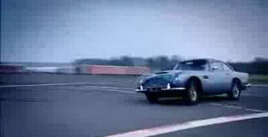 Jaguar E-type и  Aston Martin DB5