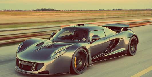 Жажда скорости: суперкар Hennessey обогнал Bugatti