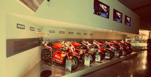 В Google Maps добавили музей мотоциклов Ducati