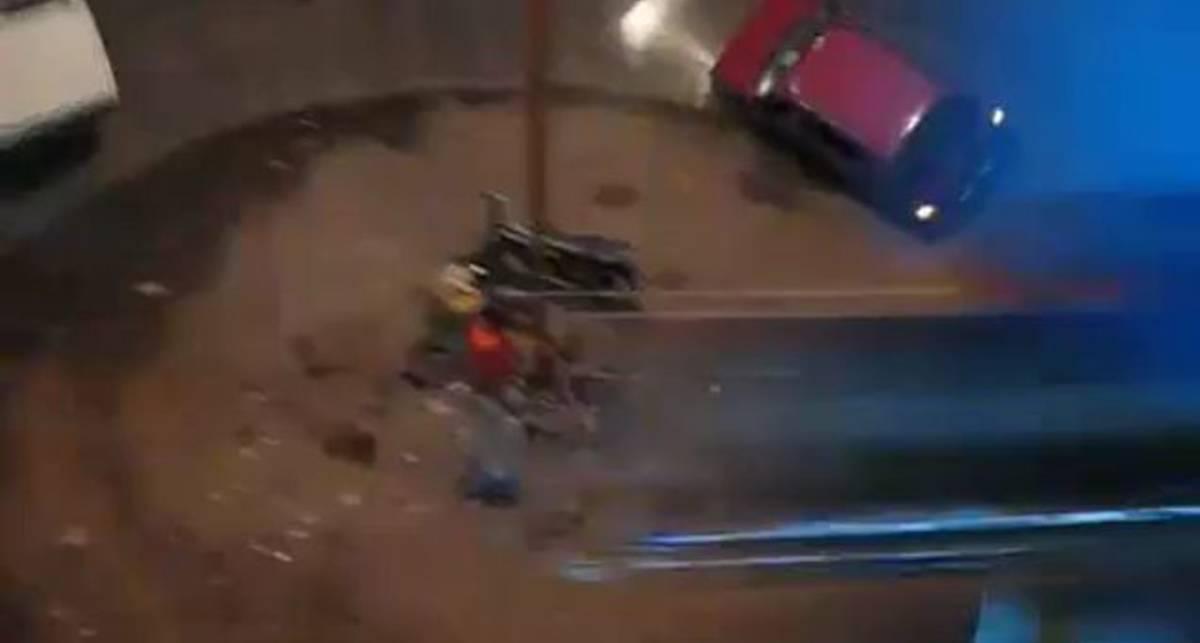 Автомобильный колодец смерти из Индии