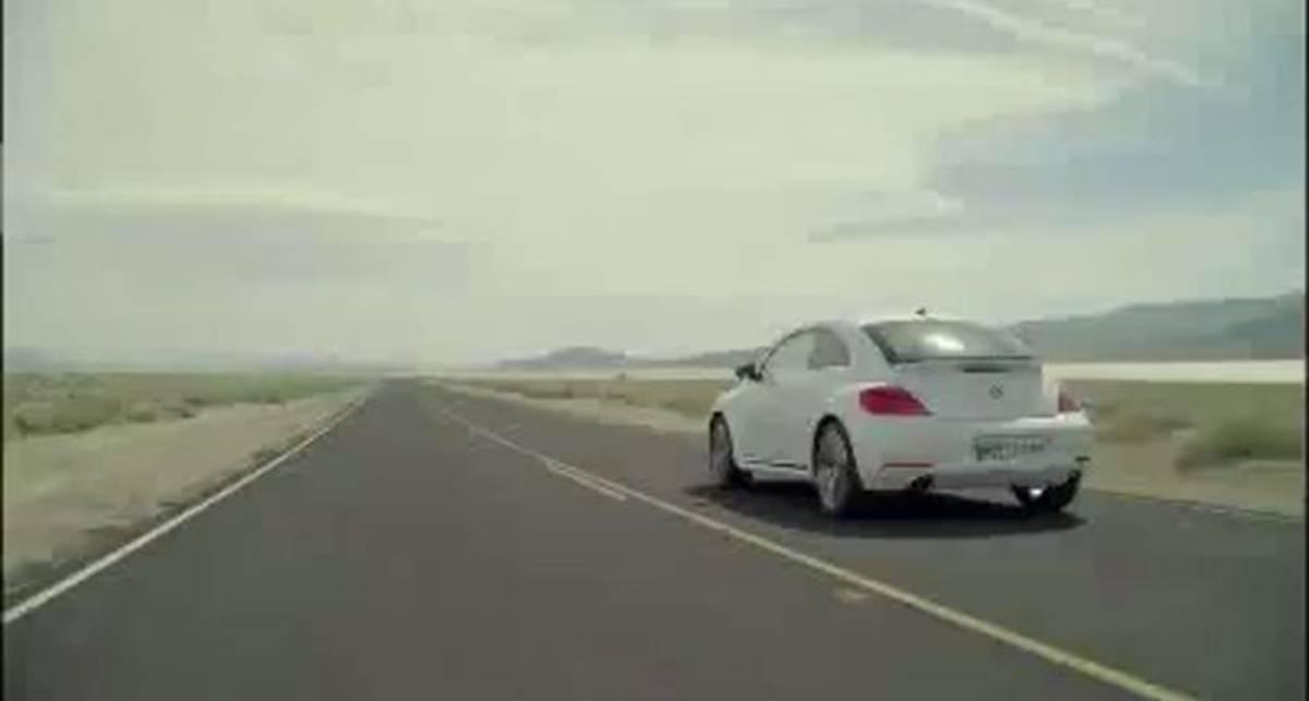 2012 Volkswagen Beetle Вождение