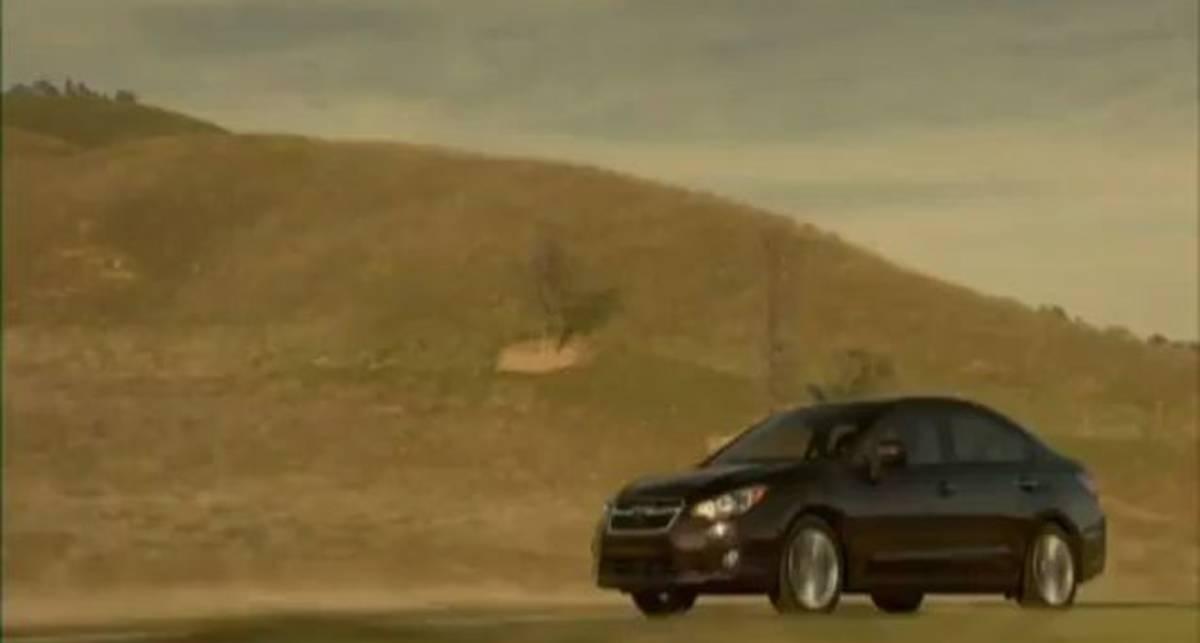 Новую Subaru Impeza показали в движении