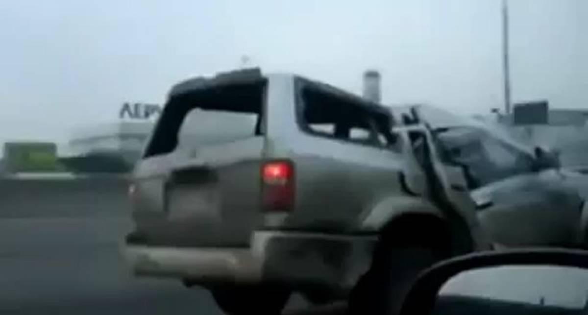 Чего только не увидишь на русских дорогах