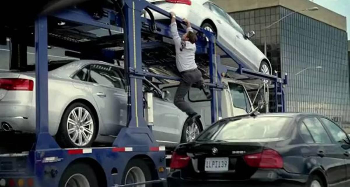 Audi A4 TV Commercial - Car Carrier