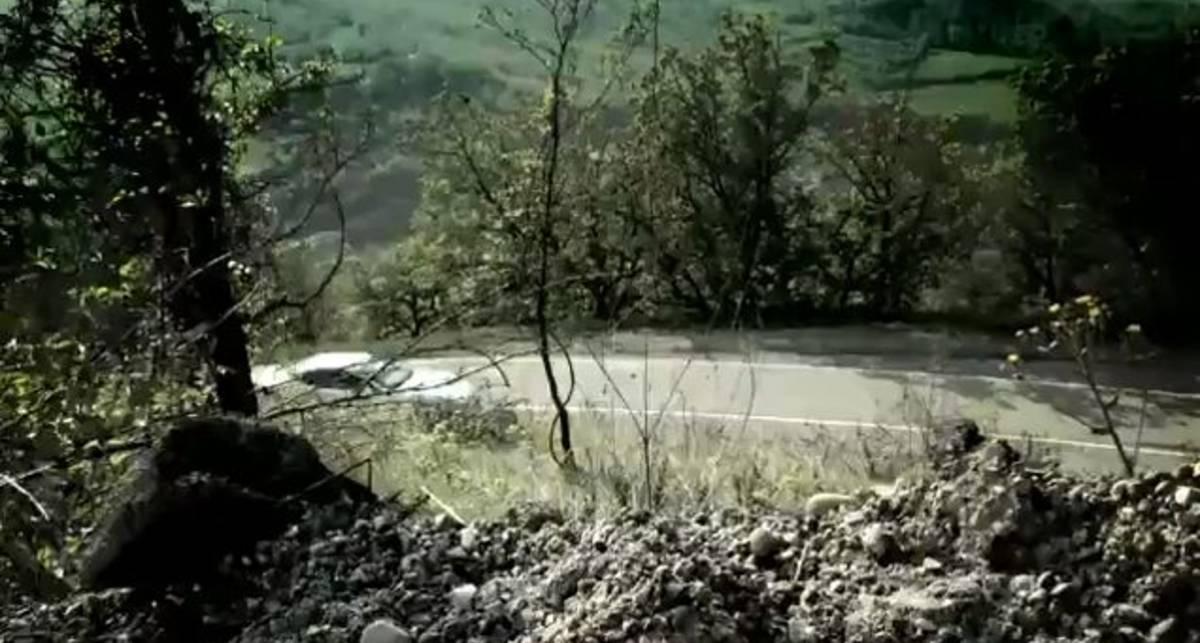 Maserati GranTurismo MC Stradale в итальянских горах