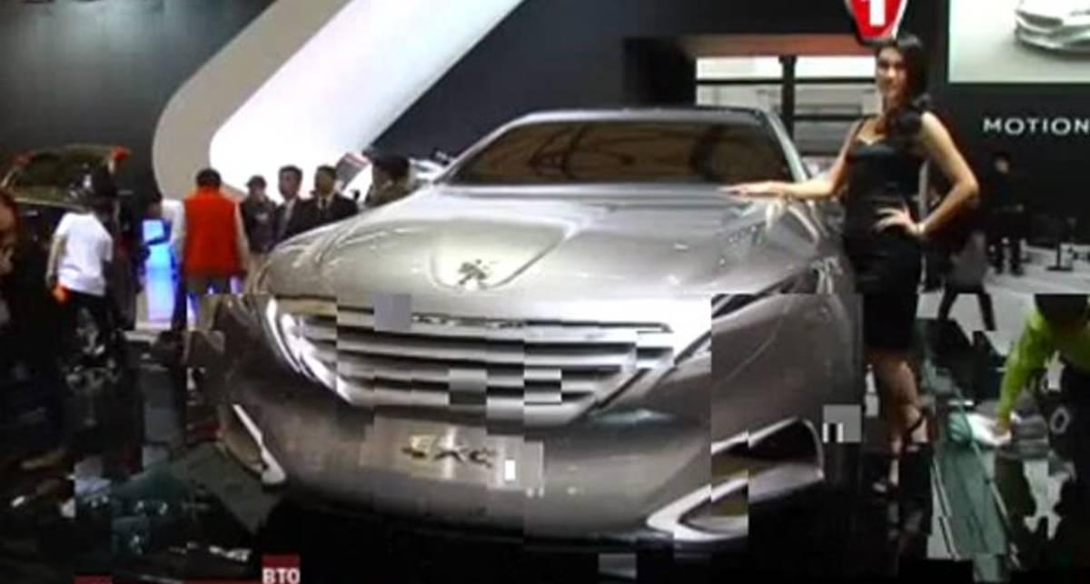 Шанхайский автосалон 2011: Peugeot SXC