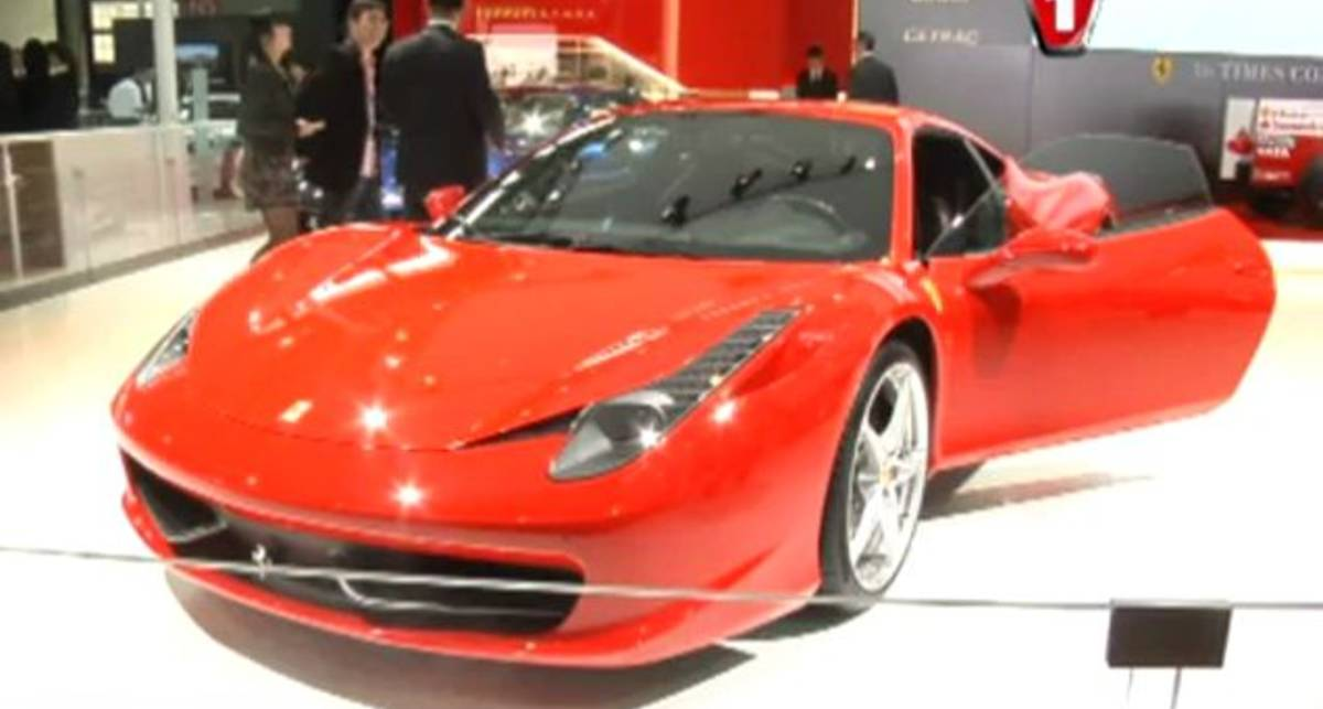 Шанхайский автосалон 2011: Ferrari