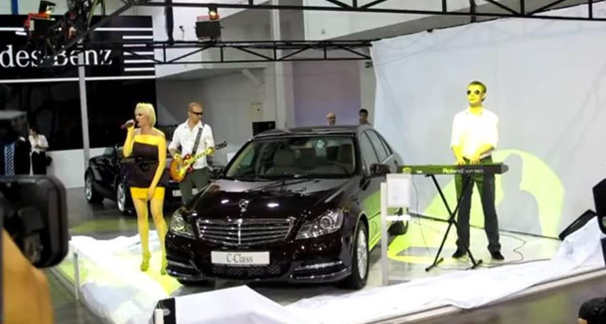 Презентация Mercedes-Benz C-class на SIA 2011