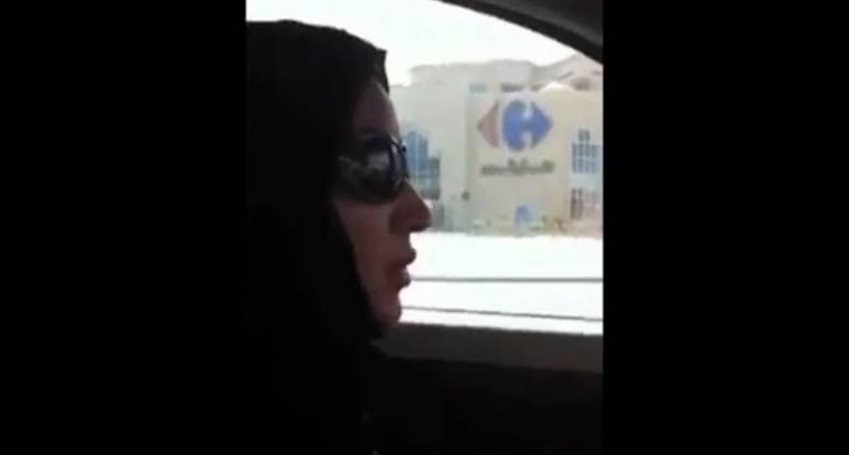 Смелая арабская женщина