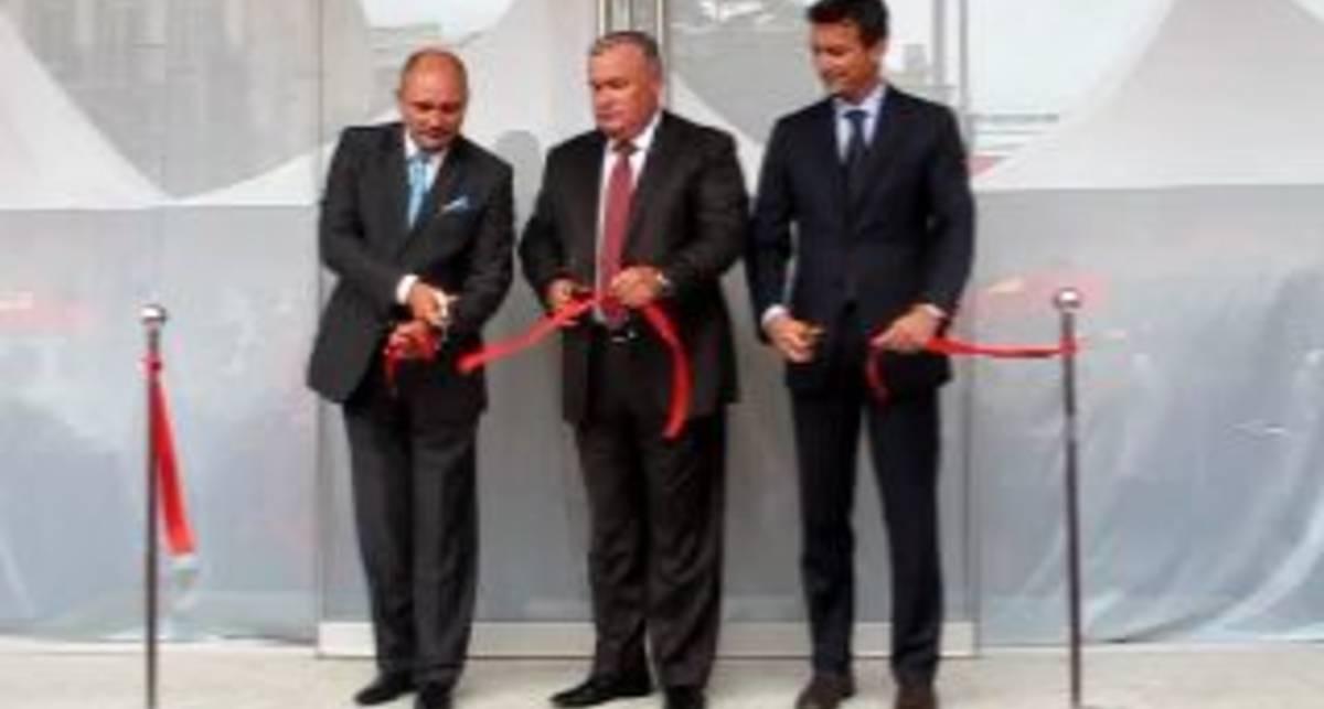 Открытие салона Ferrari в Киеве